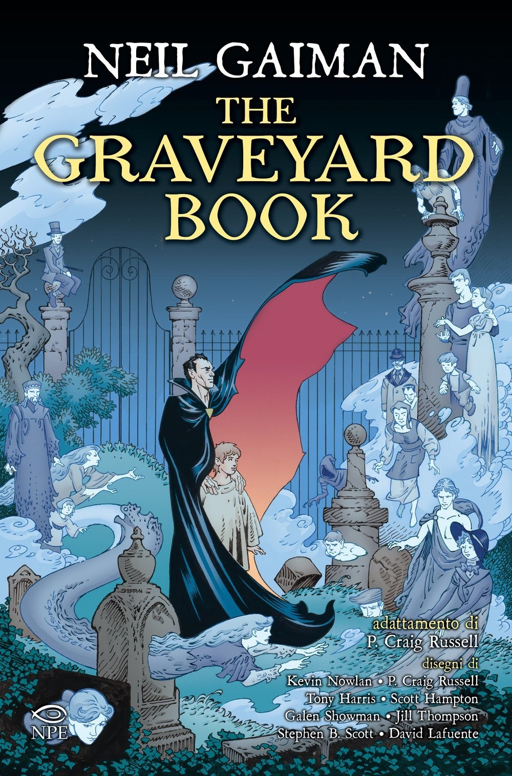 copertina the graveyard book