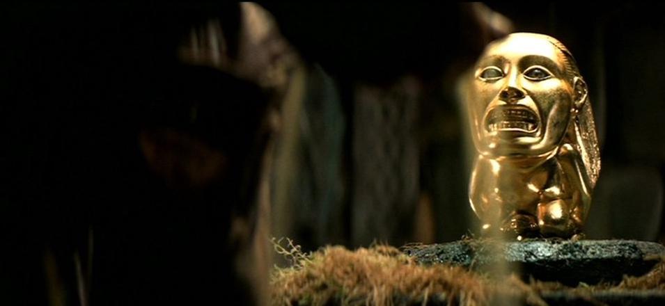 idolo d'oro di indiana jones