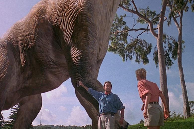 Il brachiosauro di Jurassic Park