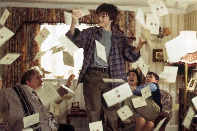 Harry Potter e le lettere da Hogwarts