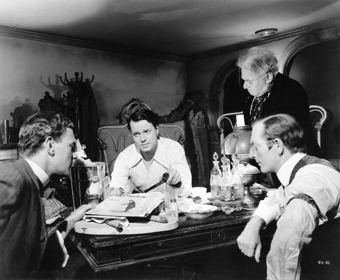 Orson Welles in Quarto potere