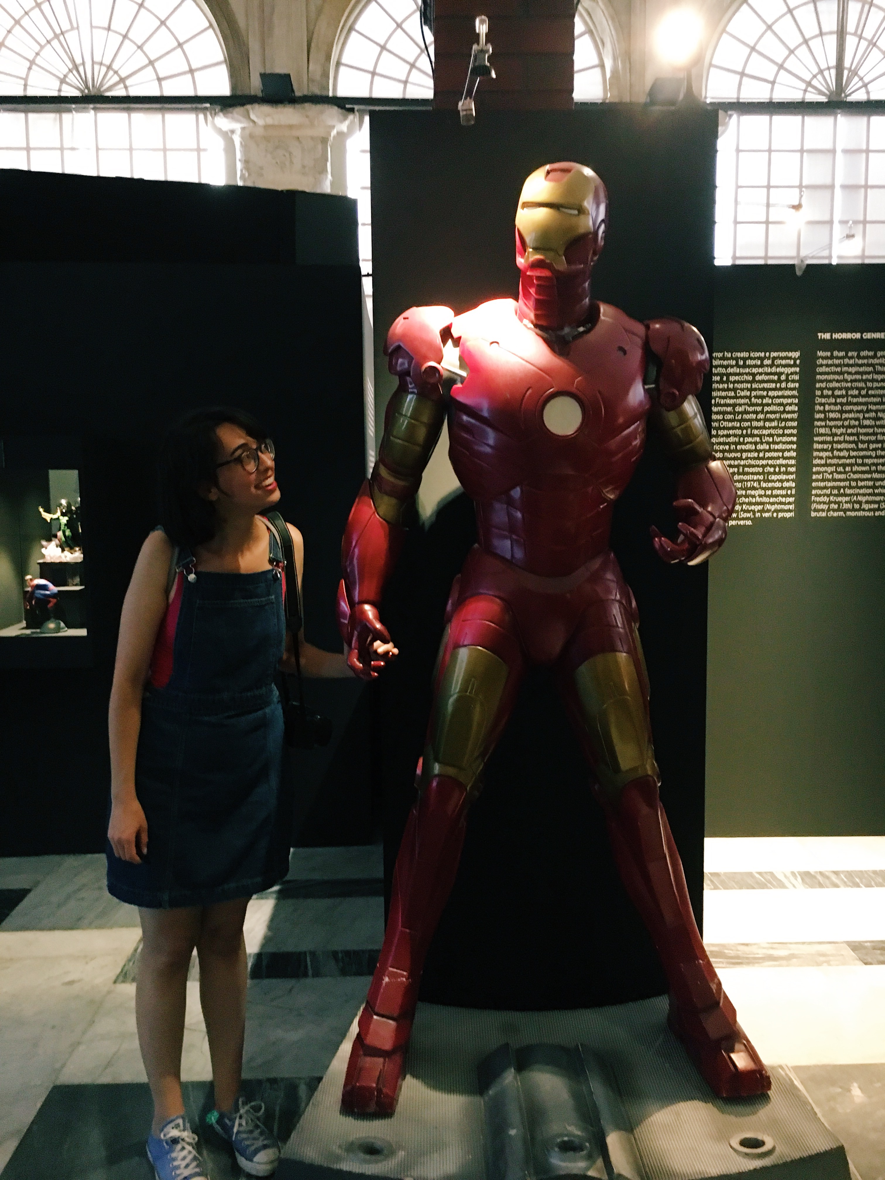 selfie con iron man