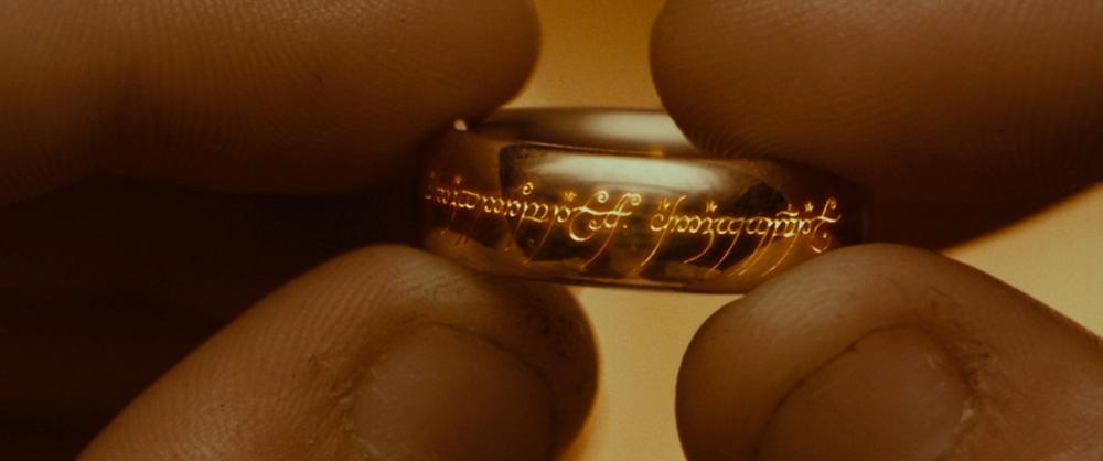 l'anello del signore degli anelli
