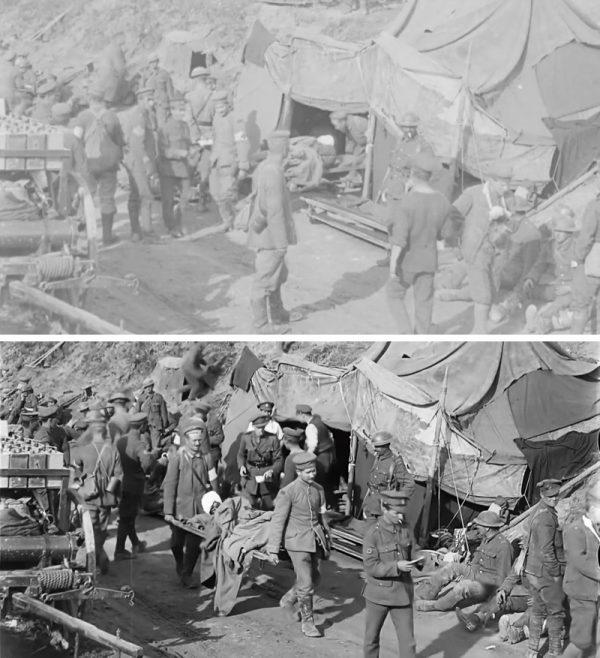 filmati prima guerra mondiale restaurati da peter jackson