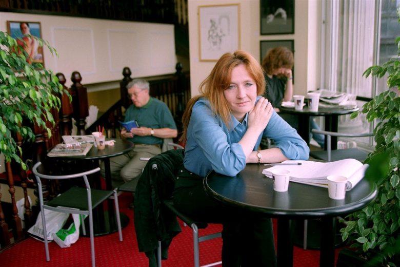J.K. Rowling nel 1997