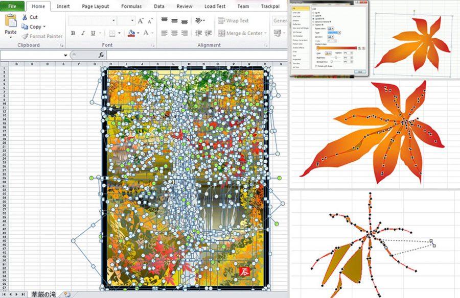 Come dipingere con Excel