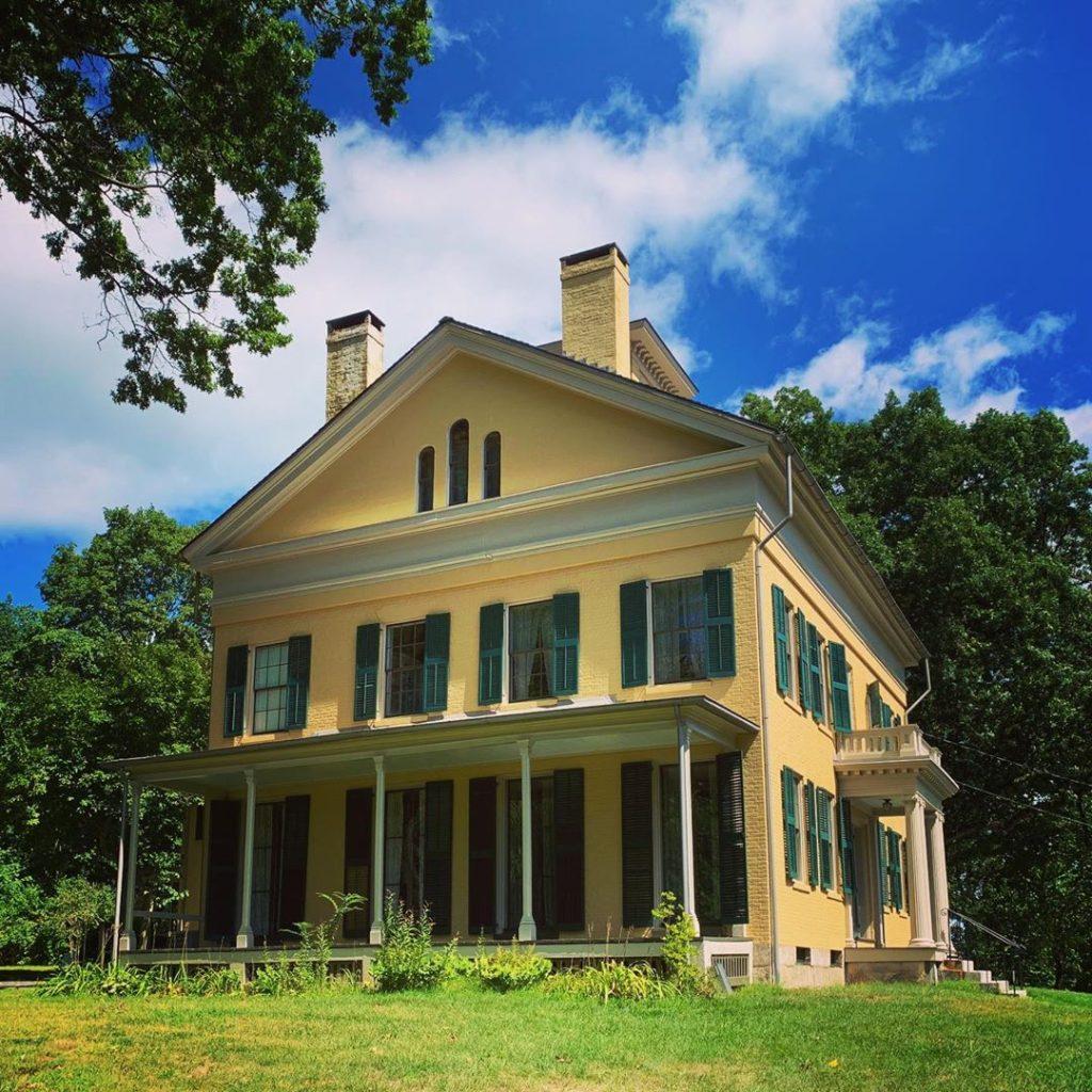 Casa di Emily Dickinson ad Amherst.