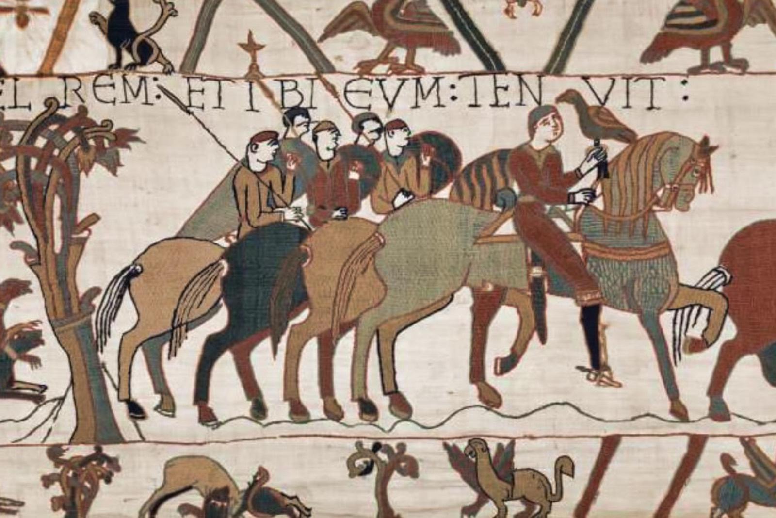 Dettaglio dell'arazzo di Bayeux