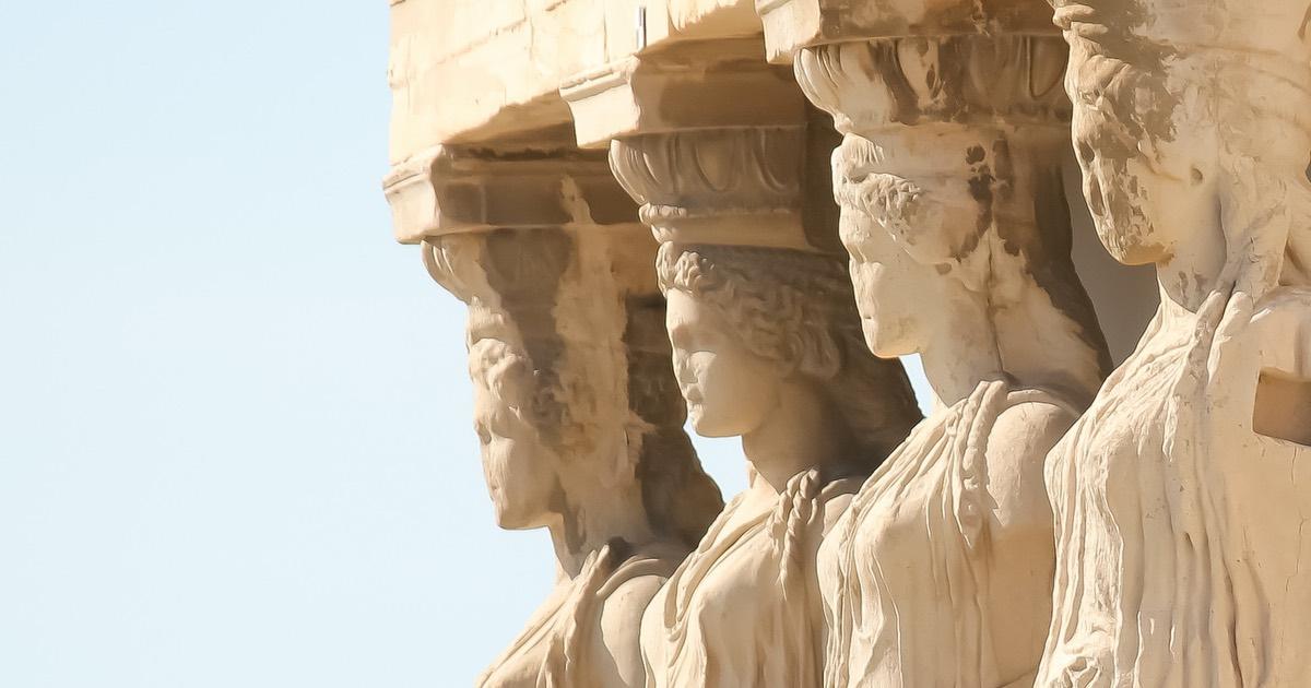 Le Cariatidi di Atene